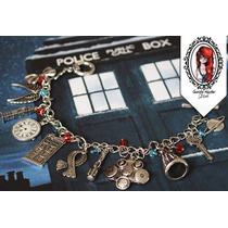 Pulseira Doctor Who Tardis, Sonic Screwdriver, Dalek...