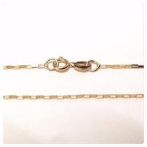 Cordão Cartier Masculino 60cm Em Ouro 18k-750 Frete-grátis