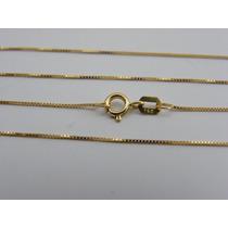 S2 Joias - Corrente Veneziana Em Ouro Amarelo 18k (1,5 Gr)