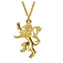 Colar Tyrion Lannister Leão Dourado- Game Of Thrones