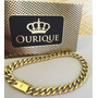 Pulseira Em Ouro 18k 750 Grumet Tradicional Groumet Italiana