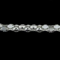 Corrente Pipoca Em Prata 40 Cm 1,5 Mm - Terra Da Prata