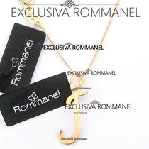 Rommanel Gargantilha Pingente Com Letra J Nome 540675 531315