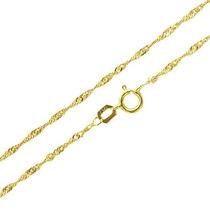 Corrente Singapura 40cm Em Ouro18k-750- Frete Grátis