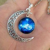 Colar Amuleto Infinito Galaxy Feminino Compre 1 Leve 2