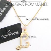 Rommanel Gargantilha Pingente Com Letra L Nome 540675 531315