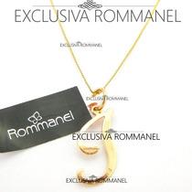 Rommanel Gargantilha Pingente Com Letra I Nome 540675 531315