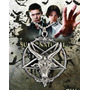Colar Supernatural Sam E Dean Pentagrama Invertida Baphomet