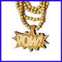 Colar Madeira Goodwood Nyx Hip Hop Pow, Temos Diamond, Bulls