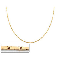 Corrente Fio Diamantado Dos Quatro Ouro Rommanel