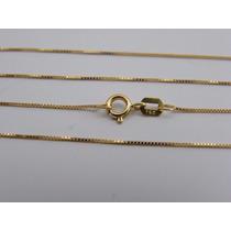 Corrente Veneziana Em Ouro 18k-750 Feminina