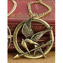 Colar Tordo Jogos Vorazes Hunger Games (frete R$8,00)