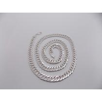 Cordão Masculino Grumet Duplo Em Prata 925 - 48 Gramas 70 Cm