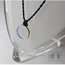 Colar/gargantilha Amuleto Hippie Pedra Da Lua Frete Grátis