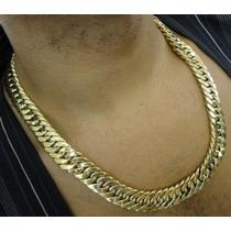 Corrente Ouro750 18k Masculina Oca Grumet/dupla 220grs 60cm