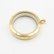 Relicário / Medalhão Dourado