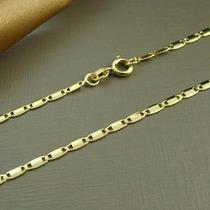 Cordão Fino Banhado A Ouro 18k 60cm 00025d