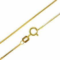 Corrente Veneziana Em Ouro 18k - 750 / 45cm