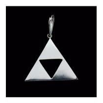 Cordão Corrente Em Prata 925 Com Pingente Triforce Zelda