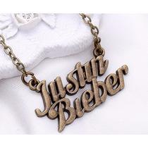 Colar Justin Bieber - Cobreado