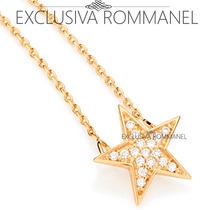 Rommanel Corrente E Pingente Estrela 17 Zirconias 531538
