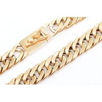 Cordão De Ouro 18k 750 - 320 Gramas Para Derreter
