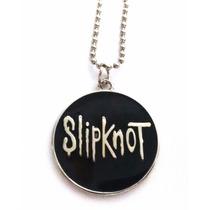 Colar Banda Slipknot Rock Corrente Pingente Símbolo Cordão