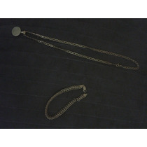 Corrente E Uma Bela Pulsera Ouro 750 Puro 15gramas