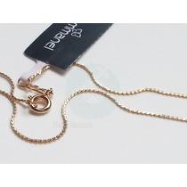 Rommanel Cordão Folheado Ouro Formato S Dourado 50cm 531501p