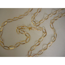 Corrente Ouro 18k/750 / Elos 5 X 10 Mm // 3grs