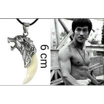 Pingente Dente De Lobo Edição Bruce Lee . 06 Cm