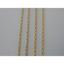 Cordão / Corrente Ouro 18k Feminino Maciço - Malha Cartier