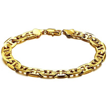 Bracelete De Luxo Banhado Ouro 18k Pulseira Unisex