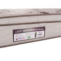 Colchão A Ortopédico, Light, Solteiro. Ortobom. Rj