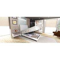 Colchão Magnético C/ Infra Bio Massageador Queen + Box Bau