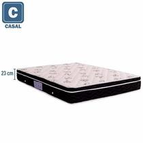 Colchão Casal Ortobom Spring Molas Nanolastic Sem Cama Box