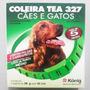 Coleira Tea 327 Pulgas E Carrapatos Cães E Gatos 13g - 44 Cm