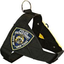 Peitoral Security Police Ny Cães Pitbull Rottweiler #j0z6