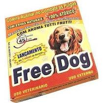 Coleira Antipulgas Free Dog