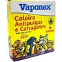 Coleira Para Cães Antipulgas E Carrapatos Vaponex 20g - 64cm