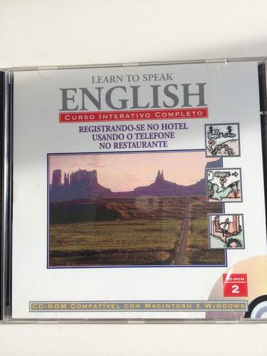 Learning English Cd - Speak English Using Audio - English ...