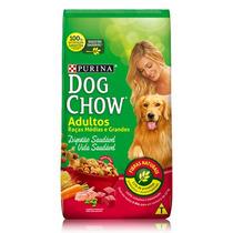 Ração Dog Chow Cães Adultos Raças Médias E Grandes 15kg