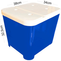 Porta Ração Furacão Pet 15kg - Várias Cores