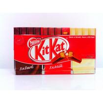 Chocolate Kit Kat 3 Dark+ 3 Milk + 3 White 405 G