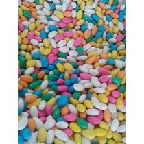 Amêndoas Confeitadas Coloridas Pacote De 5 Kg