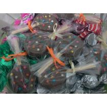 Pirulitos De Biscoito/chocolate Recheados