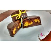 Mini Bolo De Cenoura Com Nutella