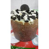 Panetone Artesanal Recheado Com Brigadeiro Gourmet 1kg A24