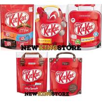 5 Pacotes Exclusivos Kit Kat Edição Limitada - Importado