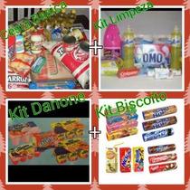 Frete Gratis Rj Cesta Basica Top + Kits Iogurte E Biscoito